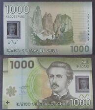 Chile 1000 Pesos, 2011 P-161 polymer Unc