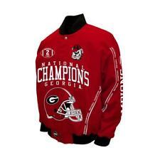 University of Georgia Bulldogs 2-Time Football Championship Jacket