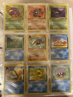 1ST EDITION FOSSIL POKEMON COMPLETE 16 CARD COMMON SET 1999   NM/M