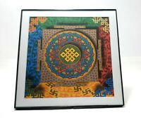 Framed Blotter Art Print LSD Tibet by Matt Manson Mandala
