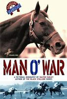 MAN O' WAR by Walter Farley FREE SHIPPING children's paperback book horses of