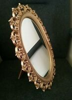 Gold  decorative  dressing table mirror