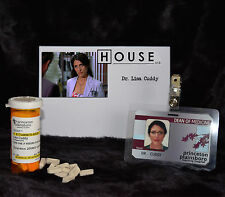 "TV SERIES HOUSE MD REPLICA PROP ""LISA CUDDY"" ZOLPIDEM BOTTLE AND HOSPITAL ID"