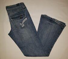 Womens vanity brand denim flare jeans sz 25×29