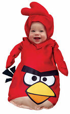 Rovio Angry Birds Red Bird Infant 0-9m Costume Infant Toddler Baby Halloween