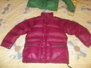 The North Face Sierra Brown Label Goose Down Jacket Puffer Vintage Nuptse USA SM