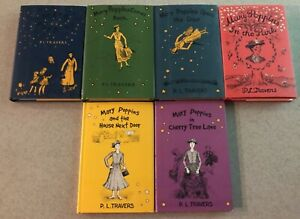 Mary Poppins P. L. Travers complete set 6 books club 2000