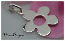 Forever Friendship 925 Sterling Silver Beautiful Flower Charm Pendant with chain