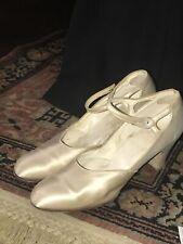 Original Boston store Chicago Antique 1904-1917 Women's Satin Shoes