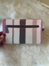 Thirty-One Free  Twill Striped Wallet