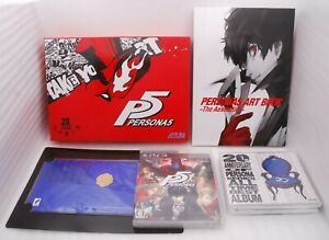 PlayStation3 PERSONA 5 20th Anniversary Edition w/ 5CDs ArtBook Japan P5 PS3
