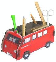 VW Bus T1 - Stiftbox / Ordnungsbox - Feuerwehr - NEU