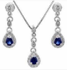 Natural Sapphire Fine Jewellery Sets