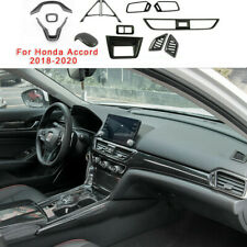 13X Abs Carbon Fiber Car Interior Decoration Cover For Honda Accord 2018-20 Auto