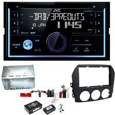 JVC KW-DB93BT Digitalradio Bluetooth USB CD AUX Einbauset für Mazda MX-5 NC FL