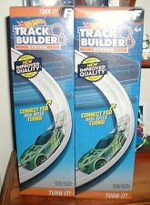 Hot Wheels x2 track curves packs,new improved quality,NEW in sealed in BOXES