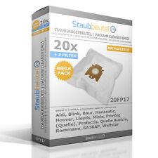 20 Staubsaugerbeutel Für MIELE 9917710, F/J/M HyClean 3D, Tango, Tango Plus