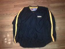 Pittsburgh Steelers NFL Vintage Nike Team Pro Line Pullover Windbreaker Mens L