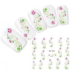 Nagel Sticker Nail Art Blumen Fuß Flower Aufkleber Water Decal