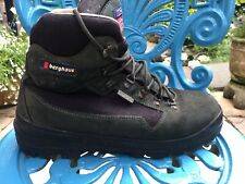 MENS VINTAGE BERGHAUS KANG GORETEX BOOTS MADE IN ITALY WATERPROOF SIZE 10.5