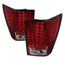 Spyder LED Tail Lights - Red Clear for 07-10 Jeep Grand Cherokee