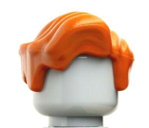 NEW LEGO - Figure Hair - Male - Wavy Dark Orange  x 1 - Professor Remus Lupin