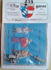 SOLDATINI Hecker & Goros  KSHG 237 VIKINGER  793-1066 3 PZ  SCALA 1:72 VICHINGHI