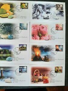 Edelsteine Philatelie 29 Briefe echte personalisierte Liechtenstein VK 625,--€