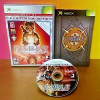 Fable The Lost Chapters - Microsoft XBOX OG Rare Game Complete Nice Disc