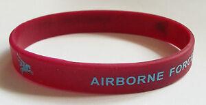 AIRBORNE FORCES PEGASUS SILICONE WRISTBAND