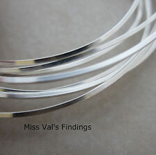 20 gauge half hard square sterling silver jewelry wire 5 feet