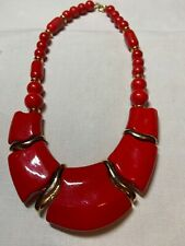 Gorgeous  * Japan  *. Red Necklace