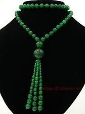 8mm , vert jade ,collier ,76 cm ,Gourd-forme ,pendentif