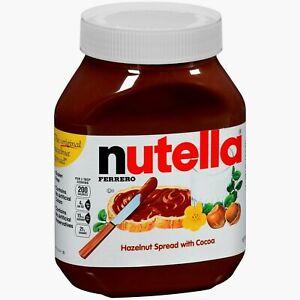 🔥 Ferrero Nutella Hazelnut Spread With Cocoa 33.5 oz Large Jar 🔥