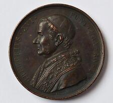 Medaille Bronze Vatikan Papst Gregor XVI. 19. Jh. Durchmesser 4,3 cm Gew. 34 g