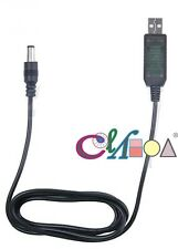 5.5MM/2.1MM USB DC charger Boost Converter CABLE for puxing px-777 px-888 E-DC59