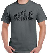 ciclismo EVOLUTION Hombres Camiseta Divertida bicicleta MTB BMX RACER ROAD
