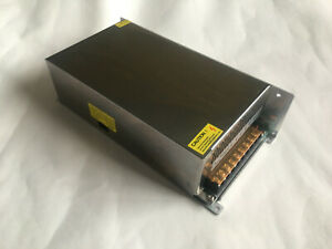 Mains - 24V/20A Switch Mode Power Supply for LED lighting/ 3D Printing/ CCTV etc