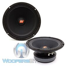 "HERTZ SV200.1 8"" SPL SHOW 500W COMPONENT 4 OHM MIDRANGE CAR AUDIO SPEAKERS NEW"