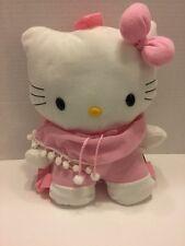 Sanrio Hello Kitty Backpack Purse Plush Pink White