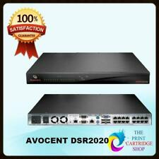 Avocent DSR2020 16 port 2 User KVM Over IP Switch Good Working Condition