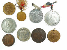 Great Britain group of nine medals of GEORGE V various metals 27mm x 38mm