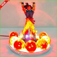 Dragon Ball Z Son Goku Crystal Balls RGB Led Lamp acrylic Anime Action Figure 🔥