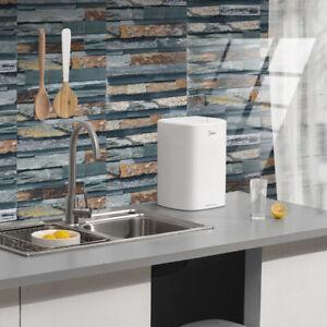 Mosaic Sticker Kitchen Tile Stickers Bathroom Self-adhesive Wall Decor Home