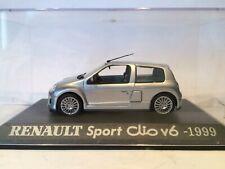 RENAULT SPORT CLIO V6 1999 SCALE 1/43 UNIVERSAL HOBBIES