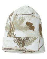 984e02a5df2 Camo Knit Hat  Beanie In White Realtree