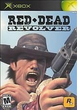 Red Dead Revolver PLATINUM HITS (Xbox) COMPLETE Western Shooter Rockstar 360
