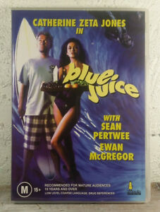 Blue Juice DVD Catherine Zeta Jones 1995 Movie Rare - AUSTRALIAN REGION 4 PAL