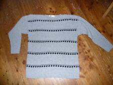 Toller warmer Pullover MEXX Gr. L grau Wolle - NEU