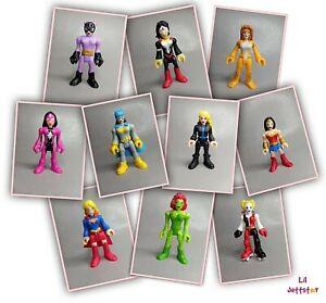 IMAGINEXT Female Figures Super Hero Girls Loose *Please Select*